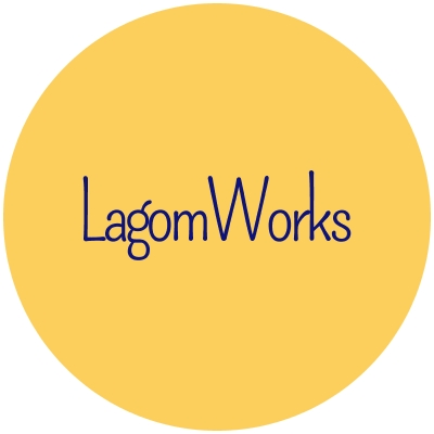 LagomWorks logo